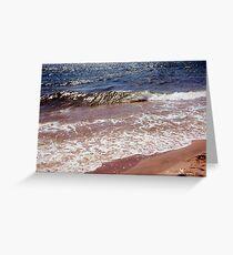 My ocean, my love... Greeting Card