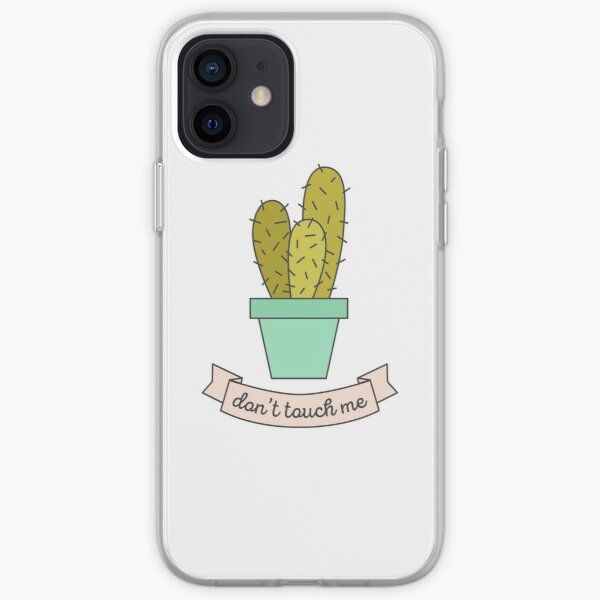 Don't Touch Me iPhone Soft Case