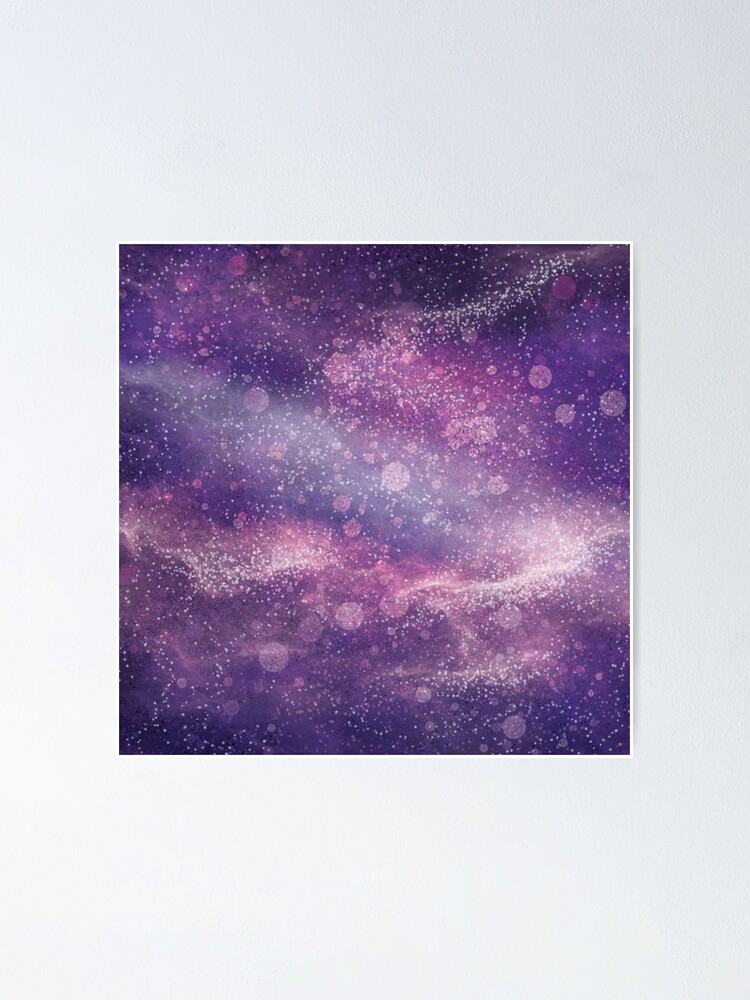 Alternate view of Ultraviolet Galaxy Poster