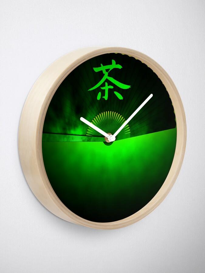 Alternate view of Green tea Clock