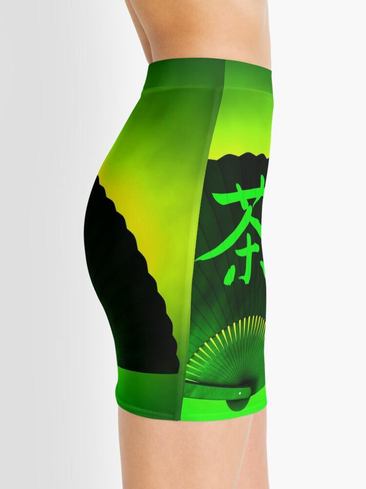 Alternate view of Green tea Mini Skirt