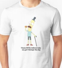 Rick and Morty: Mr. Poopybutthole Pills Unisex T-Shirt