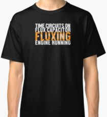 Back To The Future - Fluxing - White Clean Classic T-Shirt