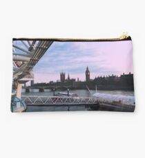 Big Ben from London Eye Studio Pouch