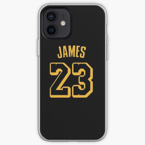 Maillot LeBron James Coque souple iPhone