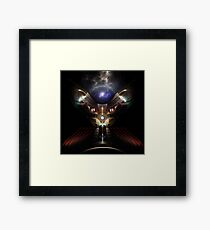 Kitty Kat Guardian Of The Void II Framed Print