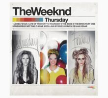 The Weeknd - Thursday album cover