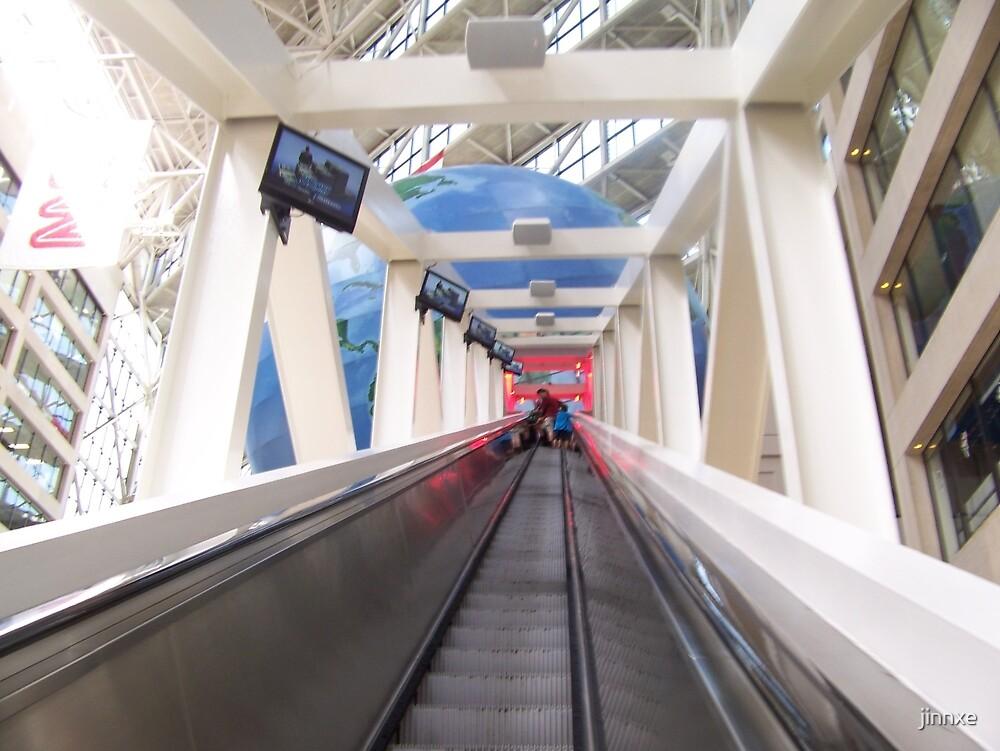 Escalator To CNN by jinnxe