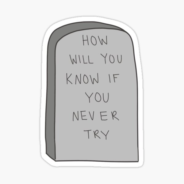 HWYKIYNT Headstone Sticker