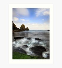 Green Rock- Nohoval Bay Cork Art Print