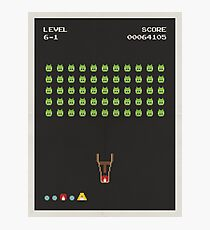 Angry Invaders Photographic Print