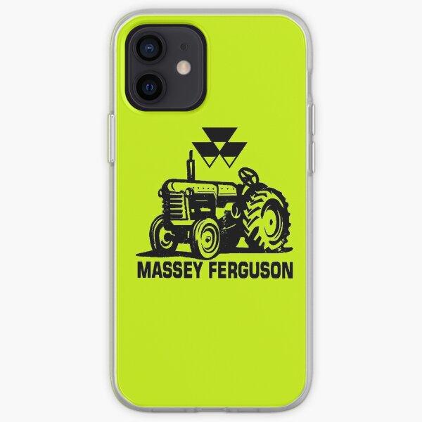 Tracteurs Massey Ferguson Coque souple iPhone