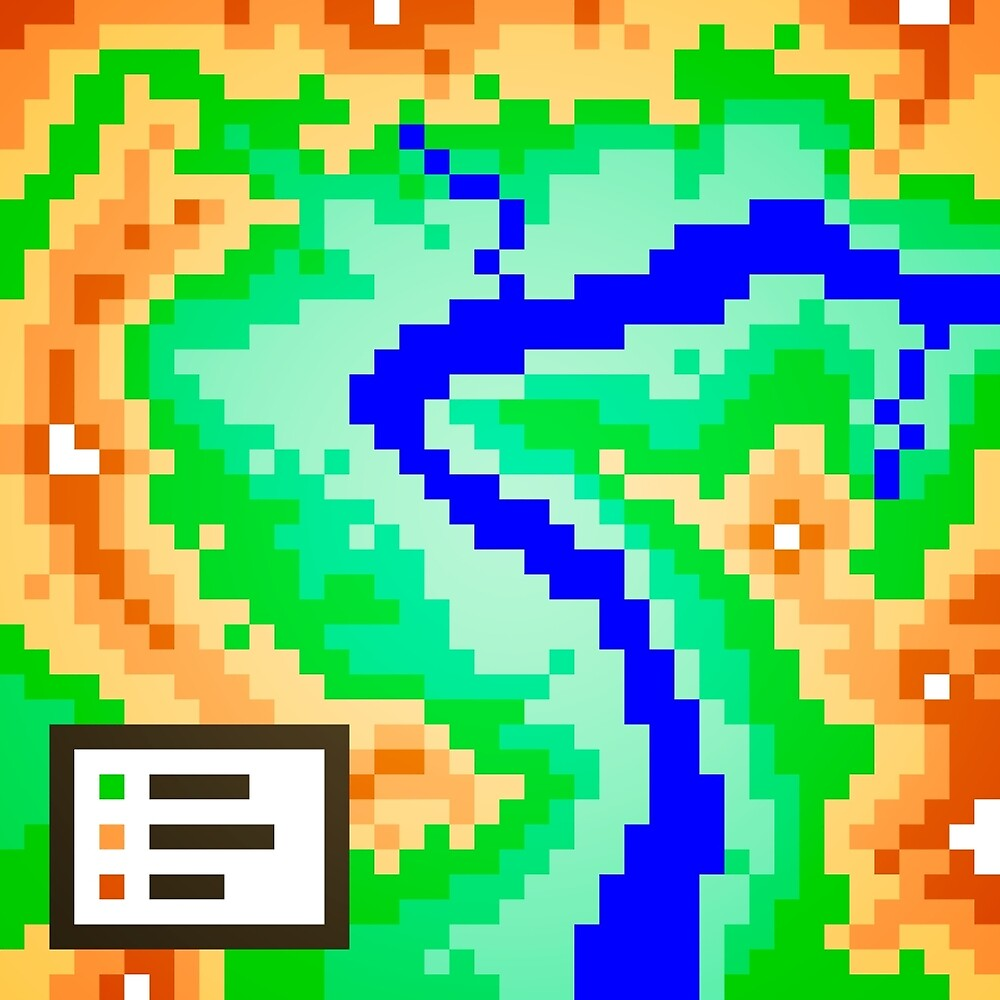 Pixel Topography by Justin Mair