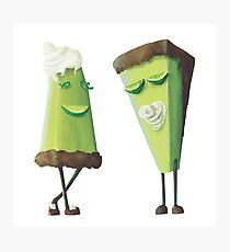 Mr. & Mrs. Key Lime Pie Photographic Print