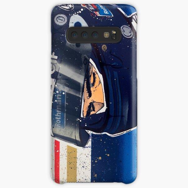 Damon Hill - Williams F1 graffiti painting by DRAutoArt Samsung Galaxy Snap Case