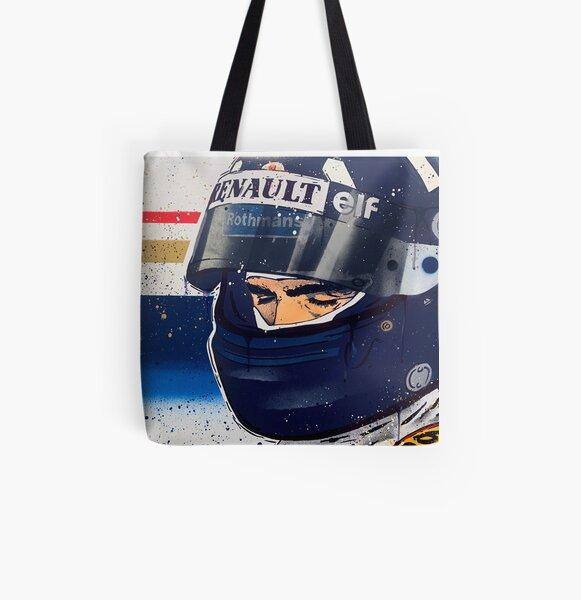 Damon Hill - Williams F1 graffiti painting by DRAutoArt All Over Print Tote Bag