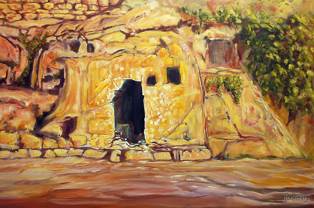The Promise - Empty Tomb Oil Painting by jlkinsey