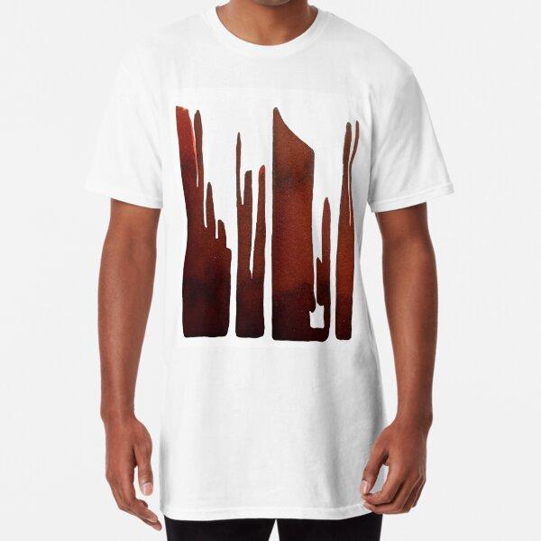 Abstract Long T-Shirt