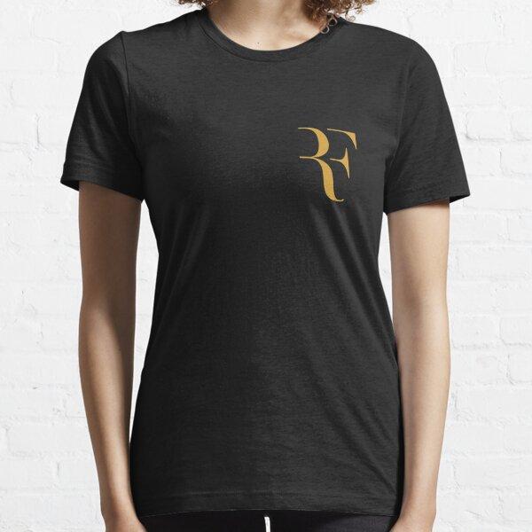 RF Roger federer logo Camiseta esencial