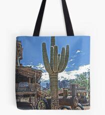 Goldfield Saguaro HDR Tote Bag