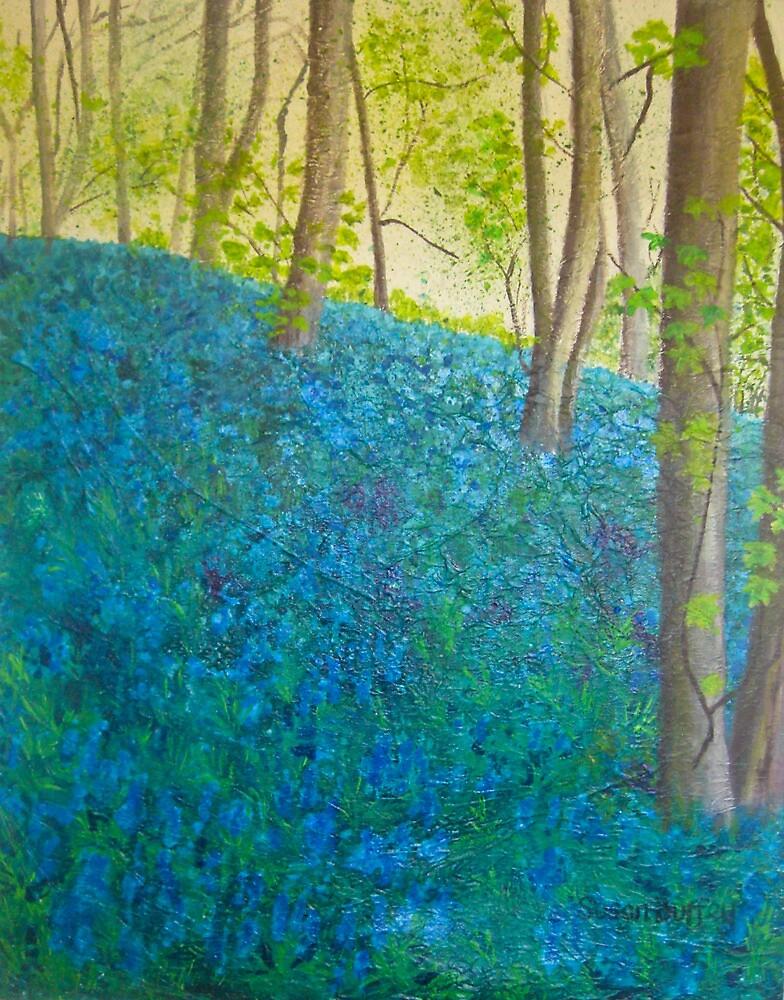 Bluebell Wood, Ilkley  by Susan Scott