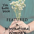 International Women's Banner by Teresa Young