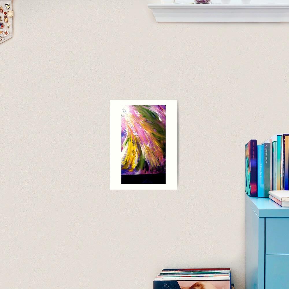 Soul Ascends/Soul Descends/8 Art Print