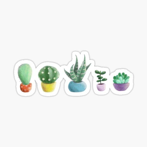cute cacti Sticker