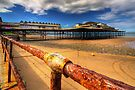 Rusty Pier by Adrian Evans