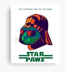 Darth Kitty - Disco Canvas Print