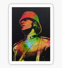 Technicolour Michael Caine Sticker