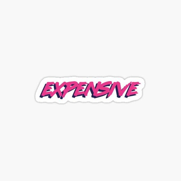 Expensive Sticker Sticker