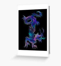 Waterdragon for Dawn-Chinese Zodiac Greeting Card