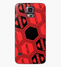 Evangelion - Nerv System Error Case/Skin for Samsung Galaxy