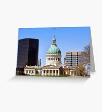 Saint Louis Skyline (USA) Greeting Card