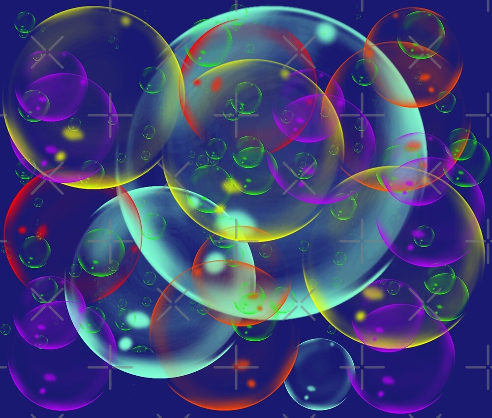 I wandered freely as a Bubble by SiobhanFraser