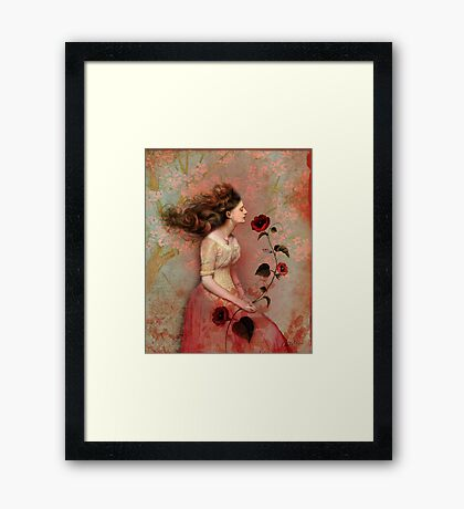 Blooming scent Framed Print
