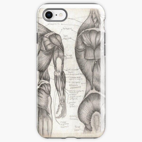 Human Anatomy 1 iPhone Tough Case