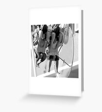 !!!!There they go!!!! Greeting Card