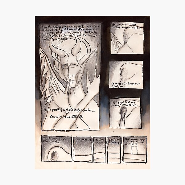The 13th Muse (origin of Nimbus) Photographic Print