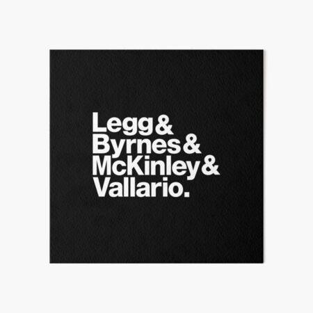 Legg & Byrnes & McKinley & Vallario Art Board Print