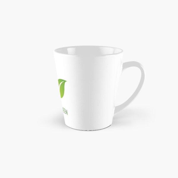 Green leaf design by Intus international Tall Mug