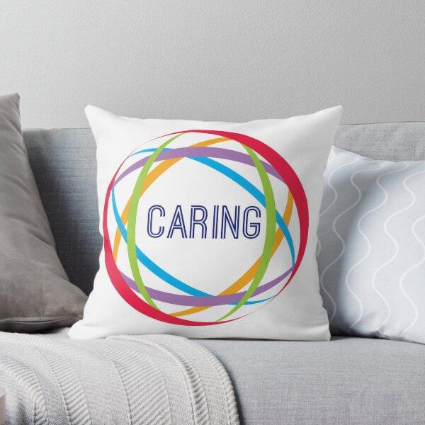 Caring design by Intus international Throw Pillow