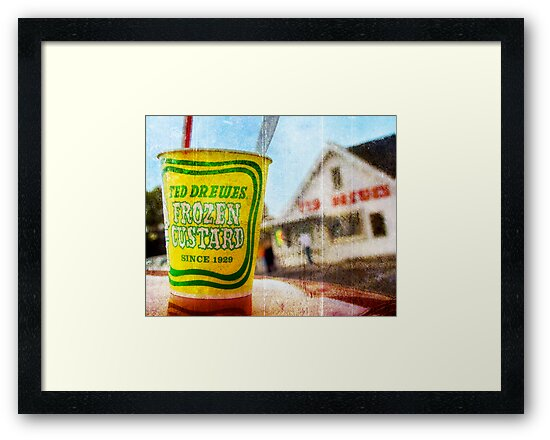 Route 66 - Ted Drewes Frozen Custard by brian gregory
