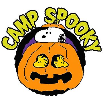 Snoopy Peanuts Camp Spooky by BoldManners