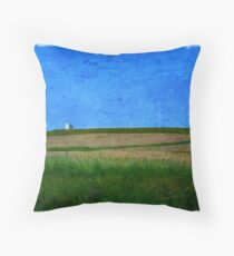 Alberta Flatlands Throw Pillow