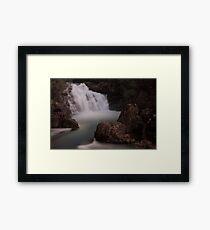 Arm River Falls Framed Print