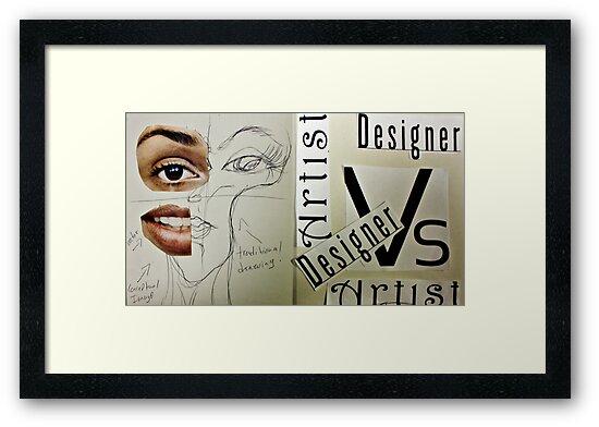 Artist Vs Design 01 by C Rodriguez
