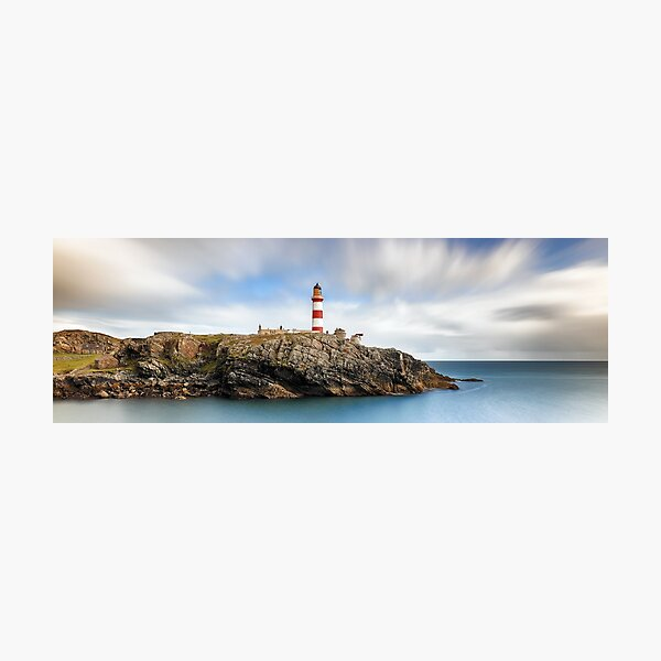 Eilean Glas lighthouse - Western Isles Photographic Print