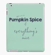 Pumpkin Spice iPad Case/Skin
